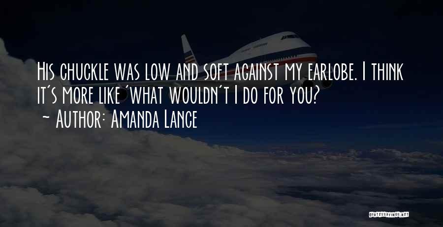 Book Boyfriend Quotes By Amanda Lance