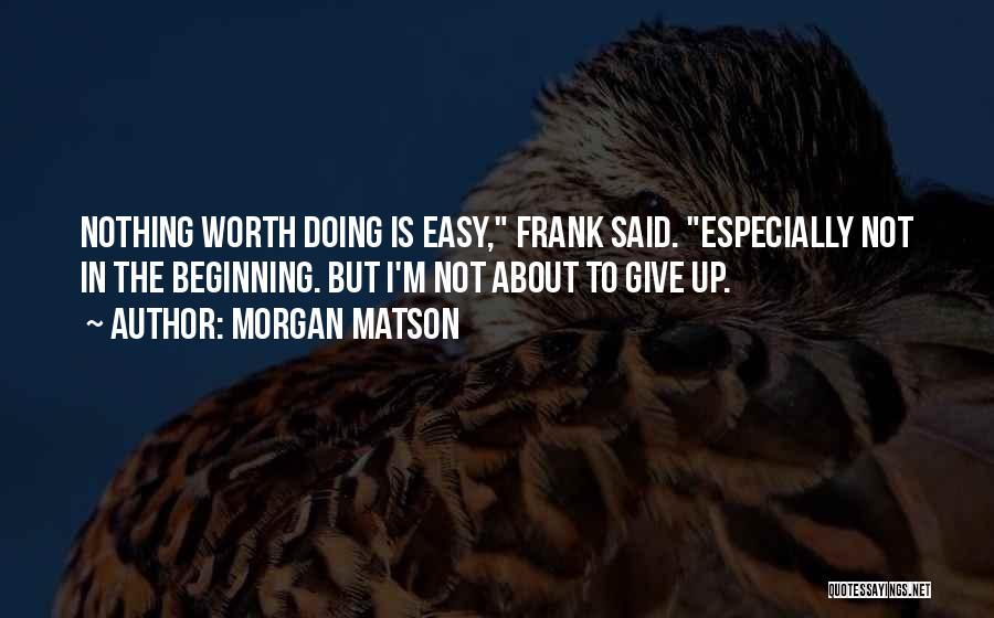 Book Boyfriend Quotes By Morgan Matson