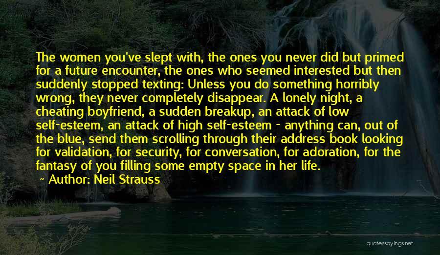 Book Boyfriend Quotes By Neil Strauss