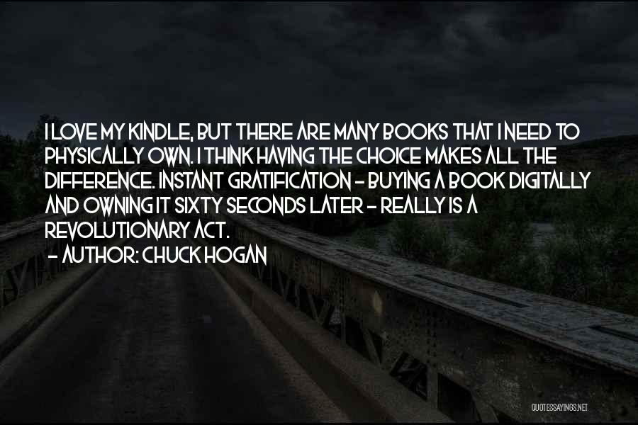 Book Buying Quotes By Chuck Hogan