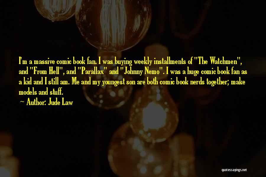 Book Buying Quotes By Jude Law