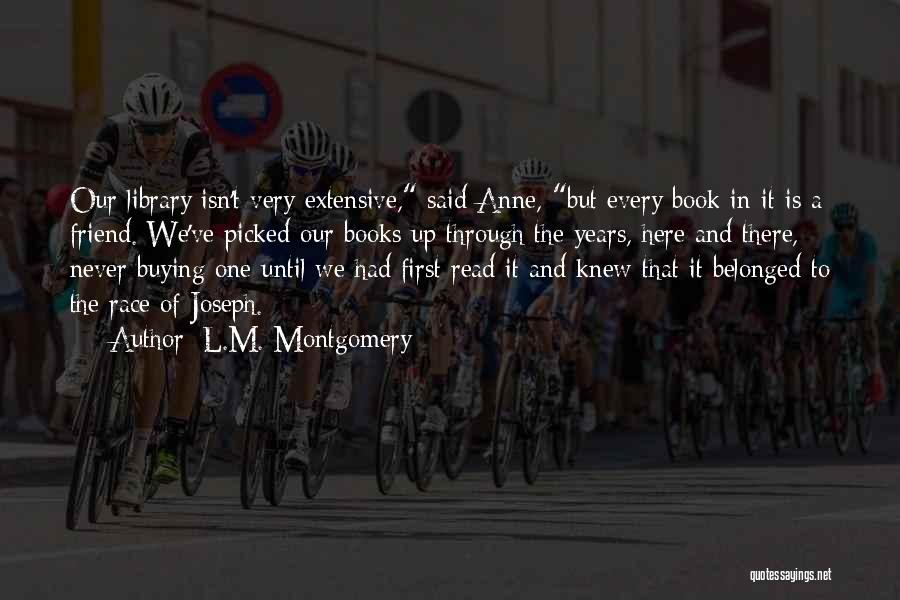 Book Buying Quotes By L.M. Montgomery