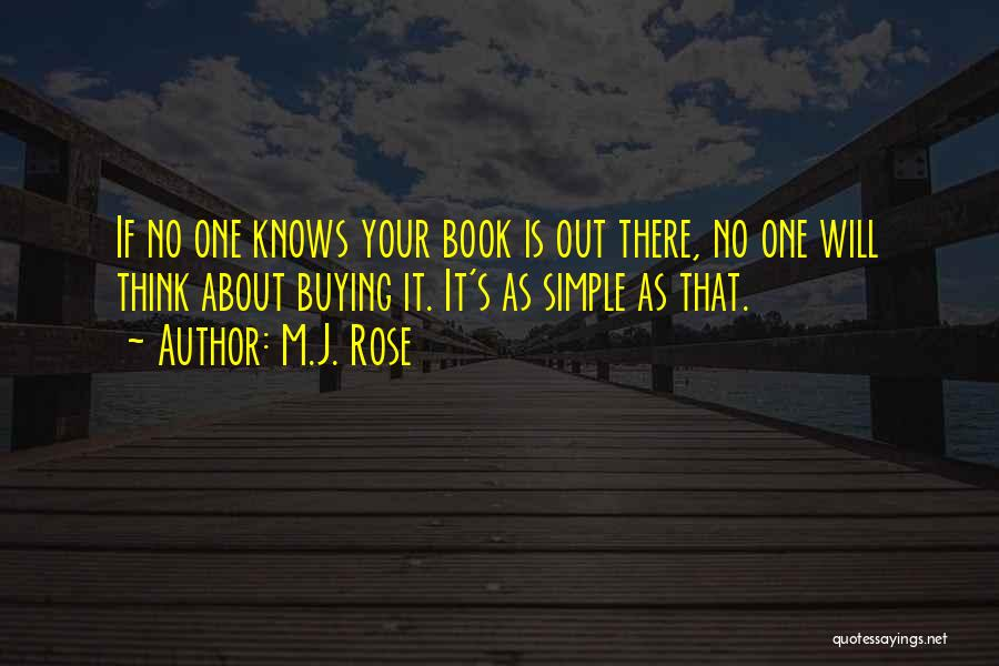 Book Buying Quotes By M.J. Rose