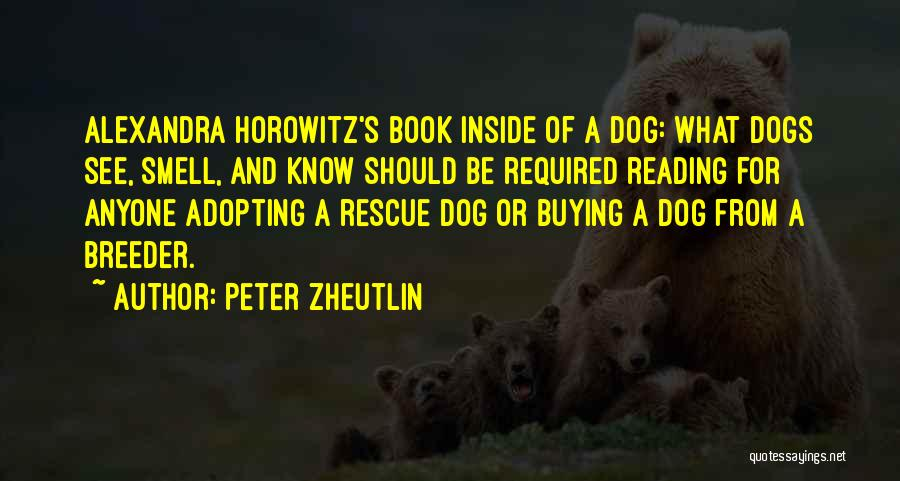 Book Buying Quotes By Peter Zheutlin
