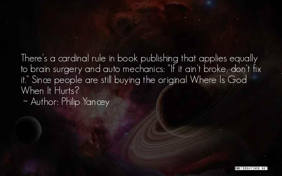 Book Buying Quotes By Philip Yancey