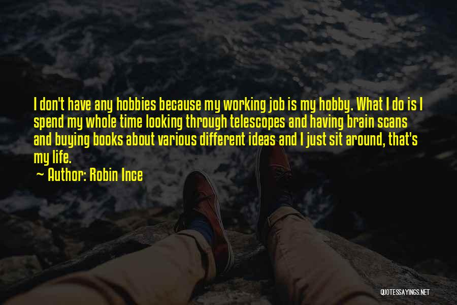 Book Buying Quotes By Robin Ince