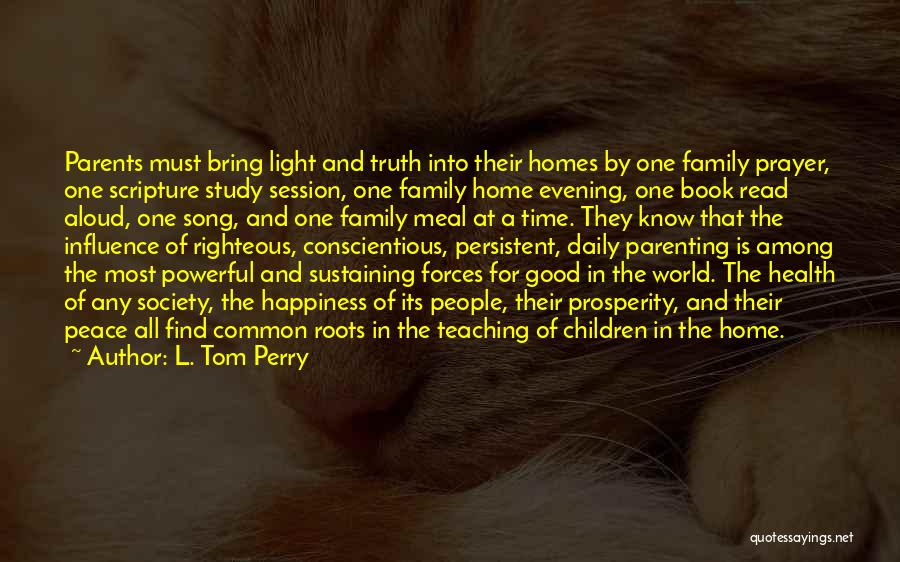 Book Of Common Prayer Quotes By L. Tom Perry