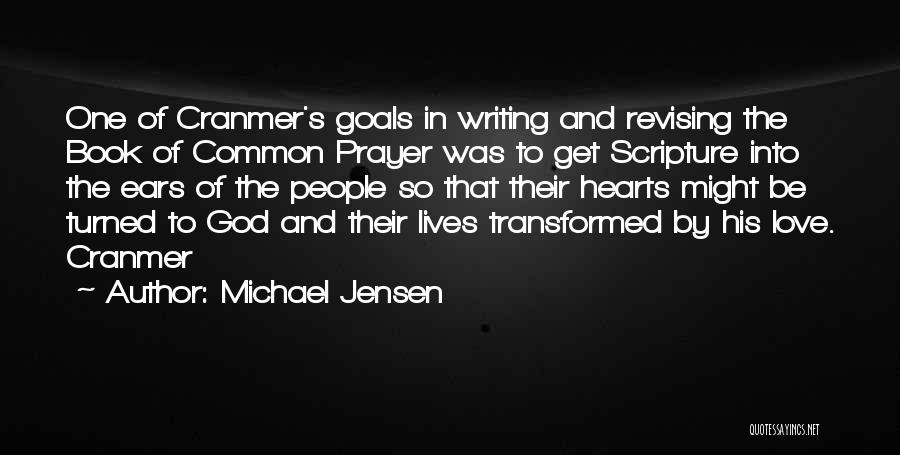 Book Of Common Prayer Quotes By Michael Jensen