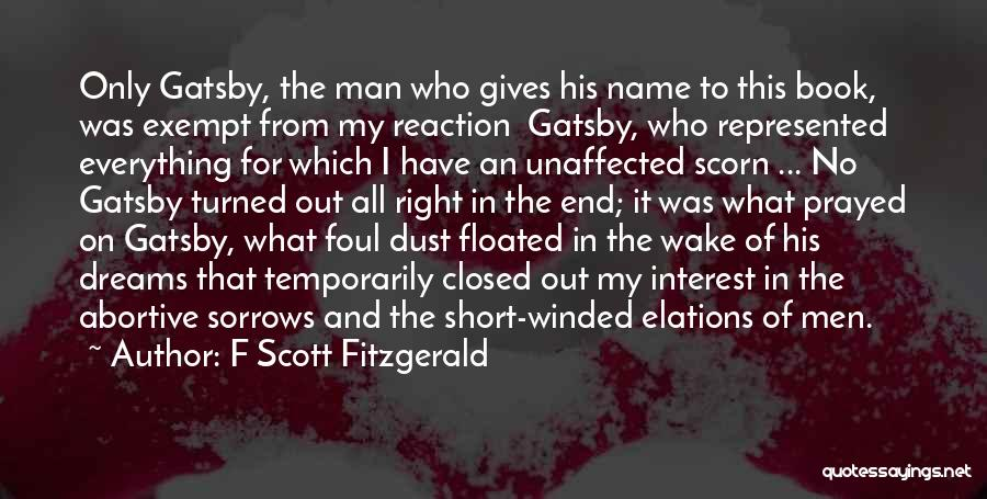 Book Of Sorrows Quotes By F Scott Fitzgerald