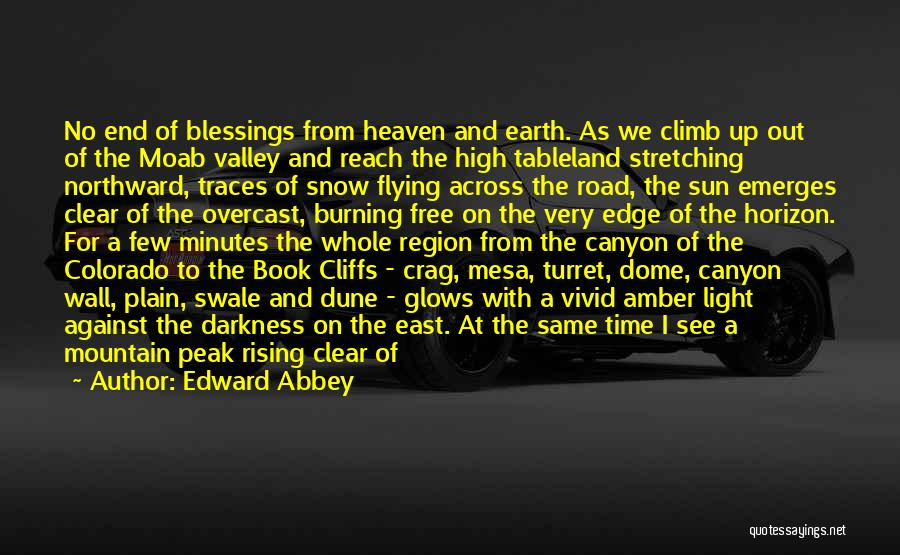 Book On The Road Quotes By Edward Abbey