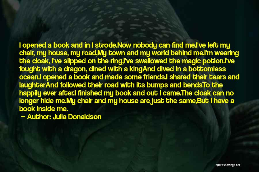 Book On The Road Quotes By Julia Donaldson
