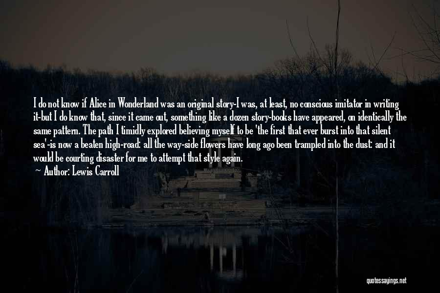 Book On The Road Quotes By Lewis Carroll