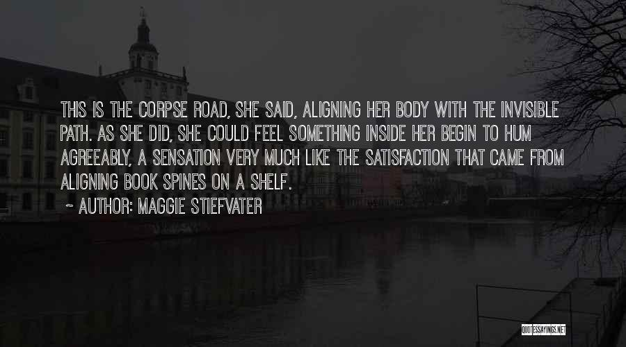 Book On The Road Quotes By Maggie Stiefvater