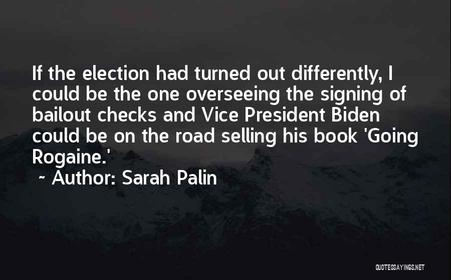 Book On The Road Quotes By Sarah Palin