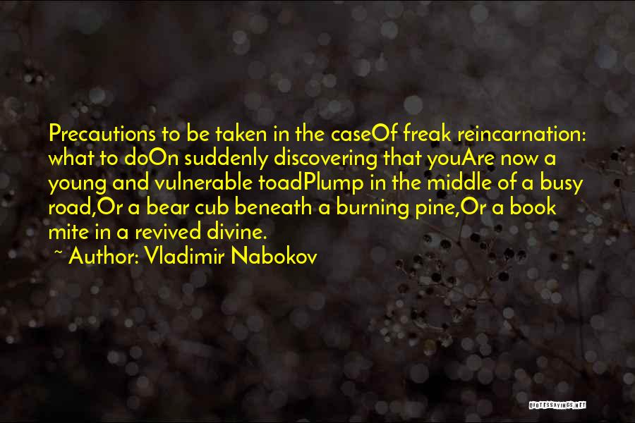 Book On The Road Quotes By Vladimir Nabokov