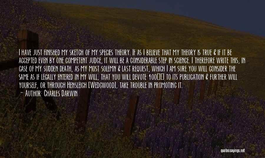 Book Publication Quotes By Charles Darwin