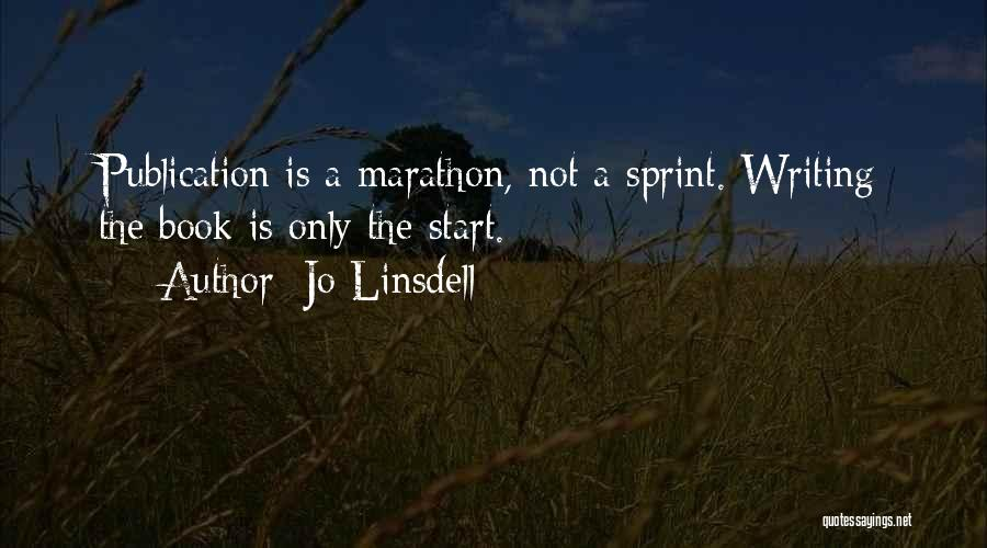 Book Publication Quotes By Jo Linsdell