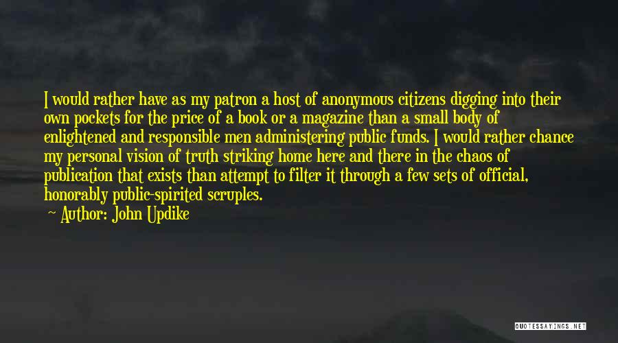Book Publication Quotes By John Updike