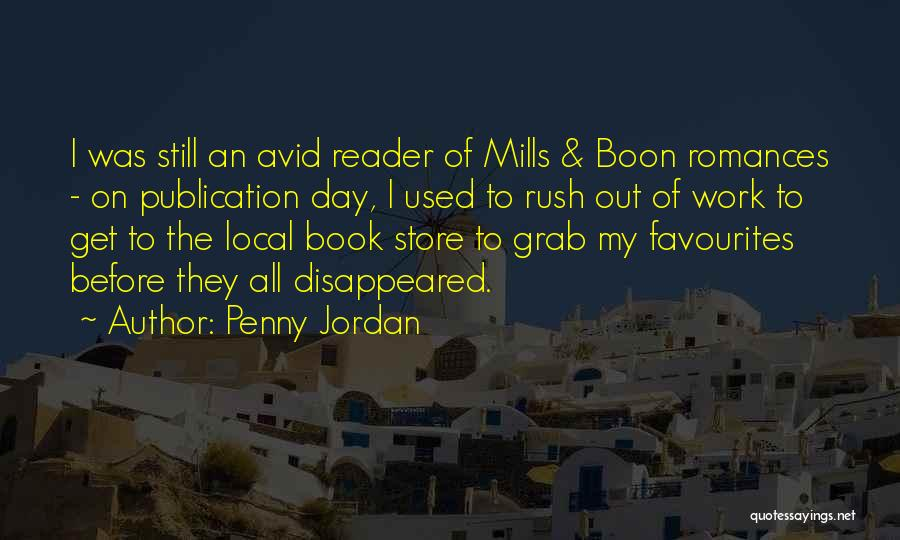Book Publication Quotes By Penny Jordan