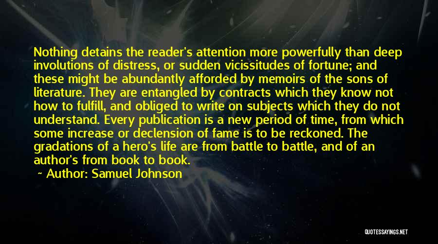 Book Publication Quotes By Samuel Johnson