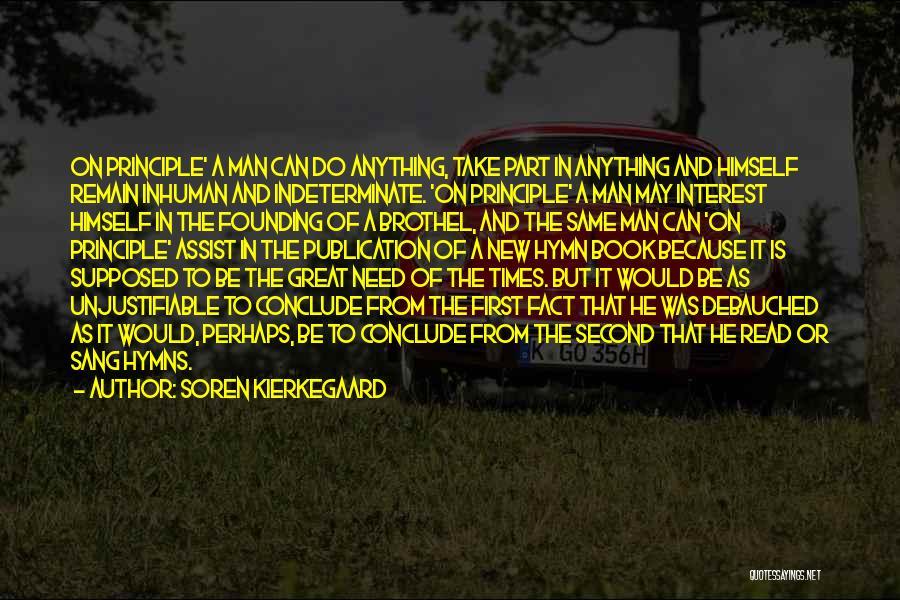 Book Publication Quotes By Soren Kierkegaard
