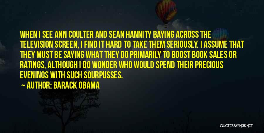 Book Sales Quotes By Barack Obama