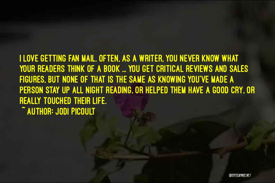 Book Sales Quotes By Jodi Picoult