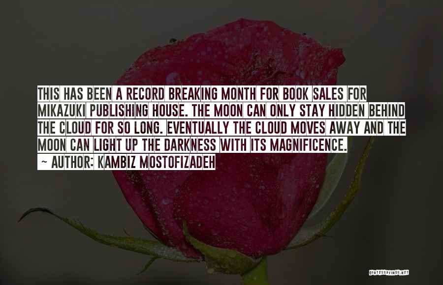 Book Sales Quotes By Kambiz Mostofizadeh