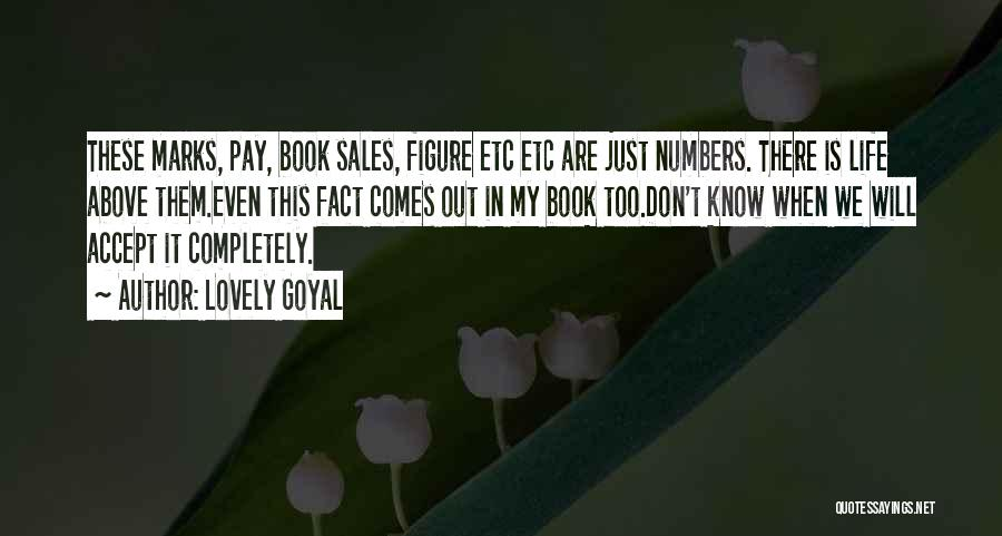 Book Sales Quotes By Lovely Goyal