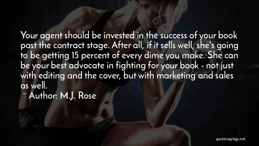 Book Sales Quotes By M.J. Rose