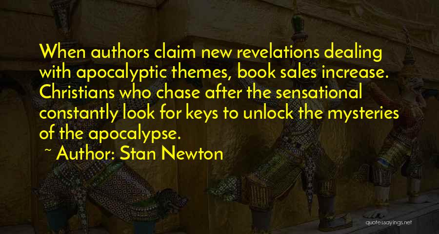 Book Sales Quotes By Stan Newton