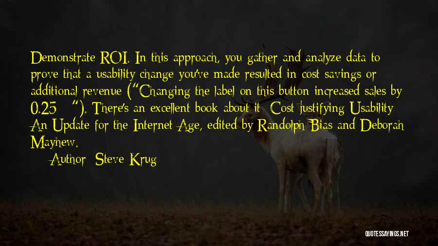 Book Sales Quotes By Steve Krug