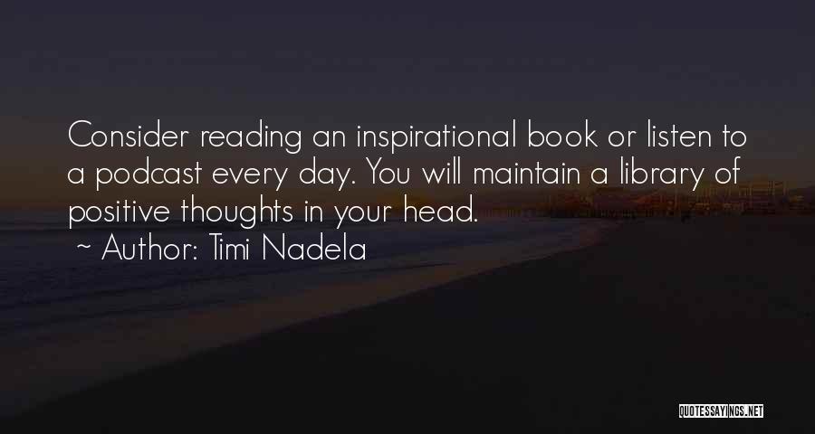 Book Sales Quotes By Timi Nadela