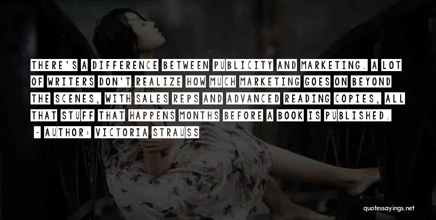 Book Sales Quotes By Victoria Strauss