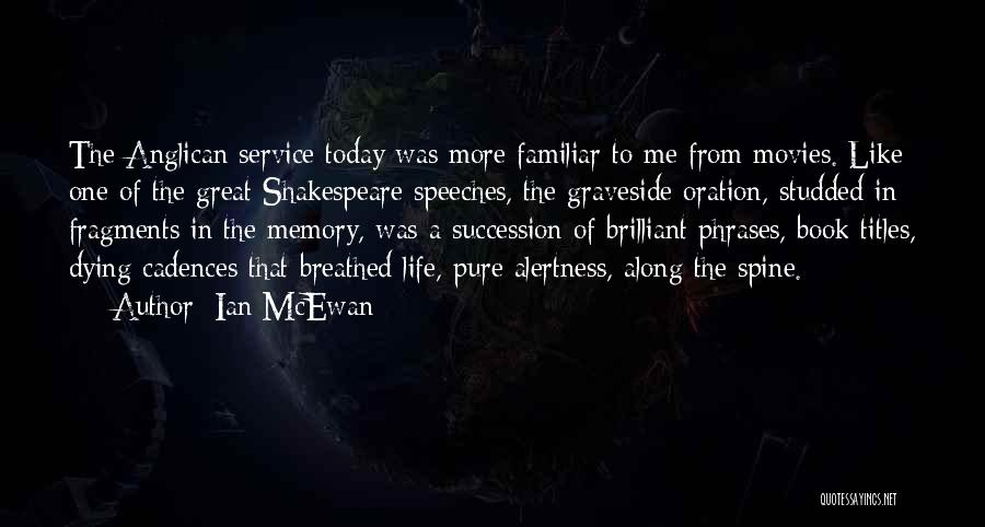 Book Titles Shakespeare Quotes By Ian McEwan