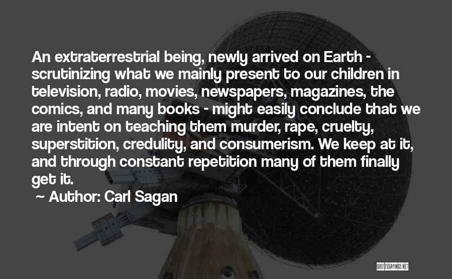 Books And Movies Quotes By Carl Sagan