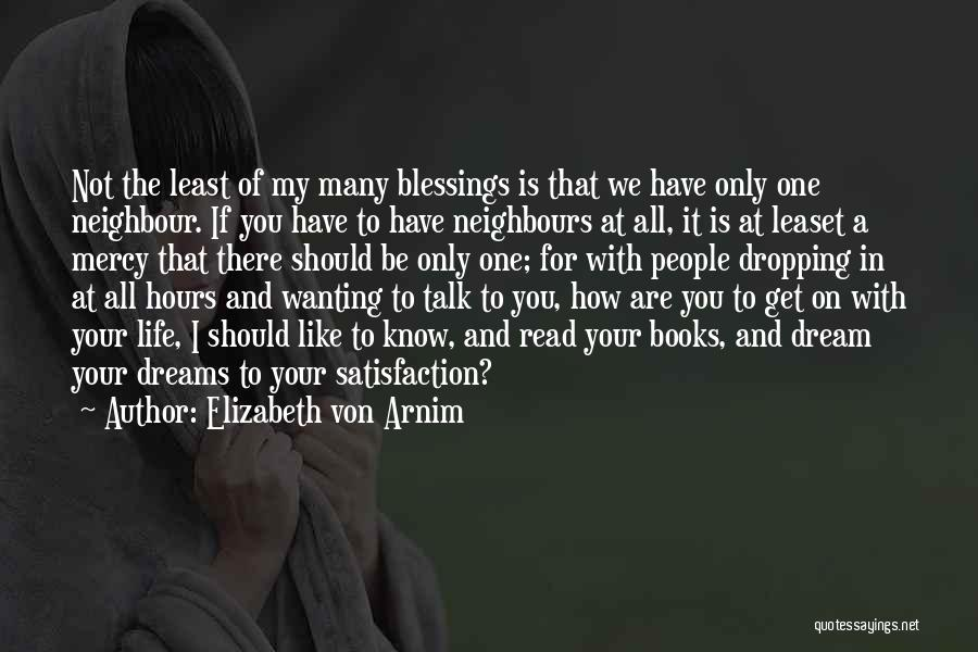 Books On Life Quotes By Elizabeth Von Arnim