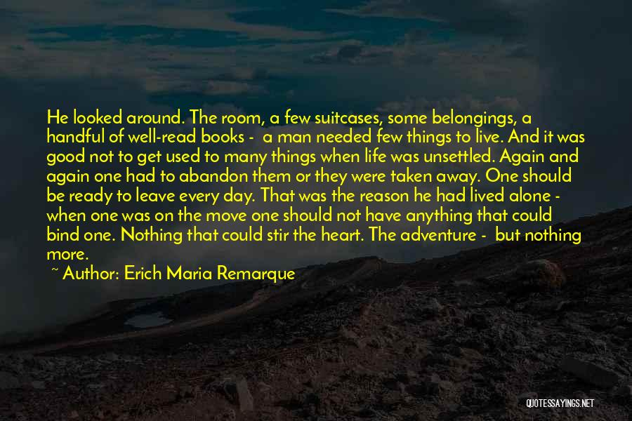 Books On Life Quotes By Erich Maria Remarque
