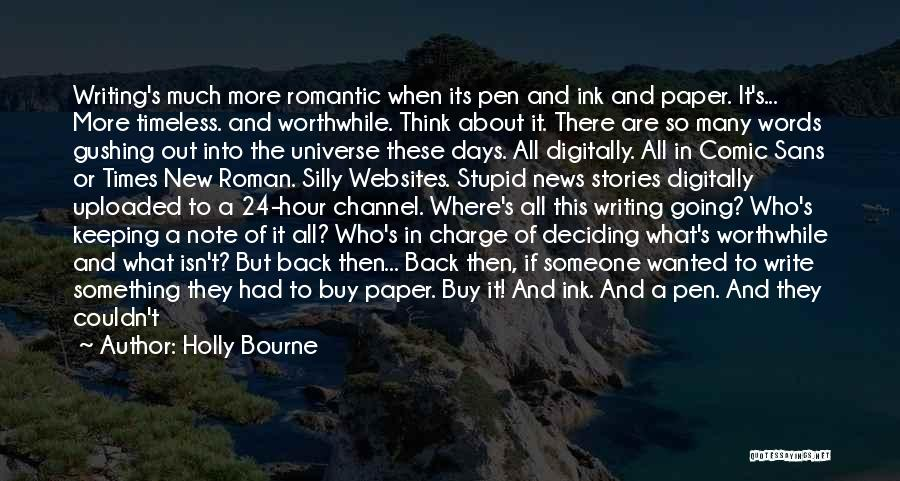 Books On Life Quotes By Holly Bourne