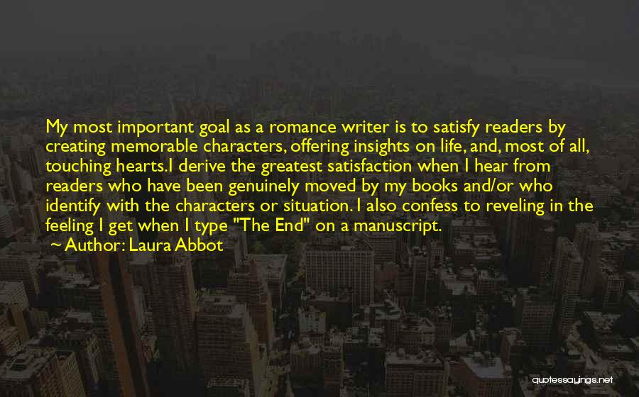 Books On Life Quotes By Laura Abbot