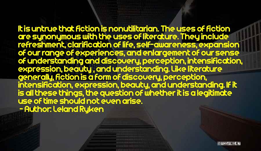 Books On Life Quotes By Leland Ryken