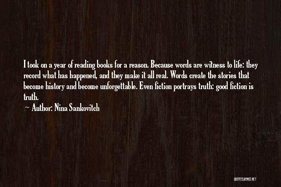 Books On Life Quotes By Nina Sankovitch
