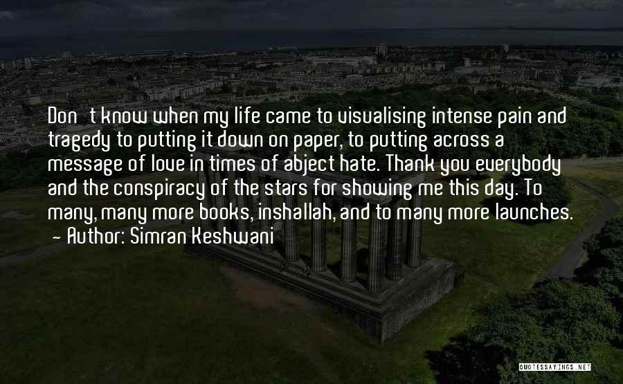 Books On Life Quotes By Simran Keshwani