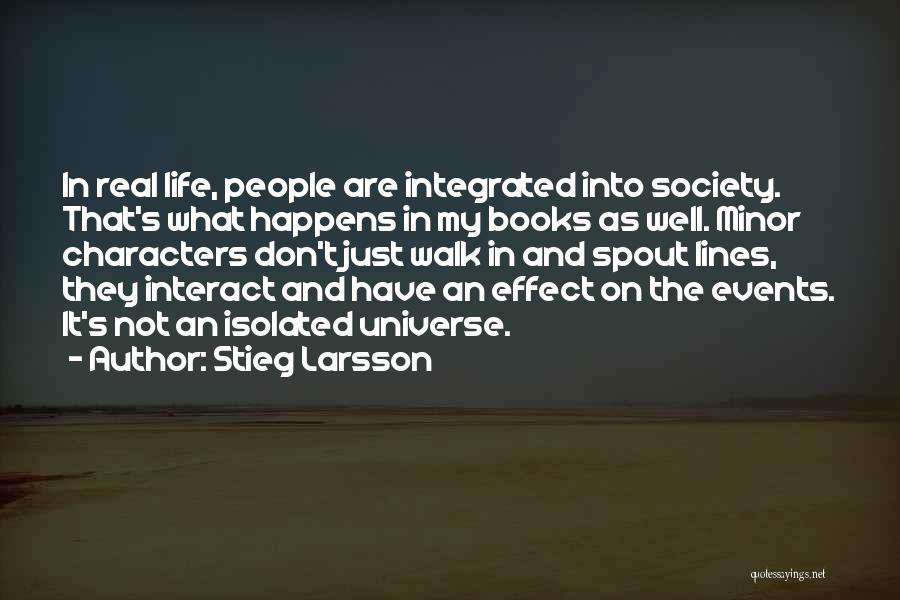 Books On Life Quotes By Stieg Larsson