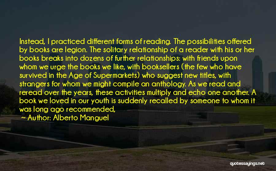 Booksellers Quotes By Alberto Manguel