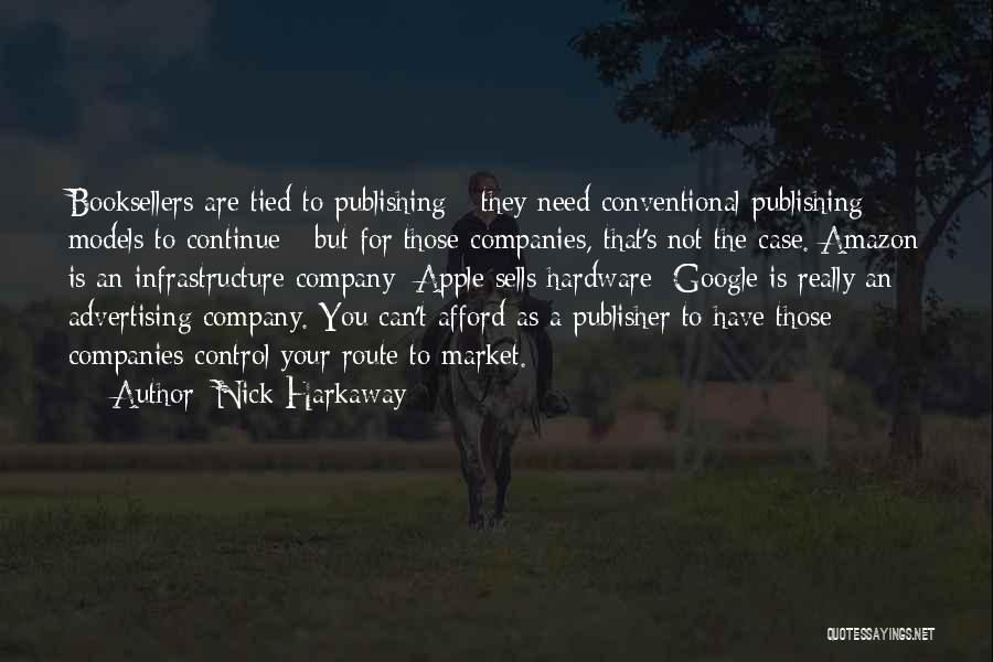Booksellers Quotes By Nick Harkaway