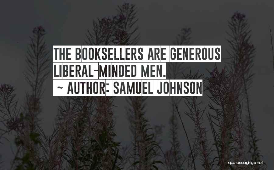 Booksellers Quotes By Samuel Johnson