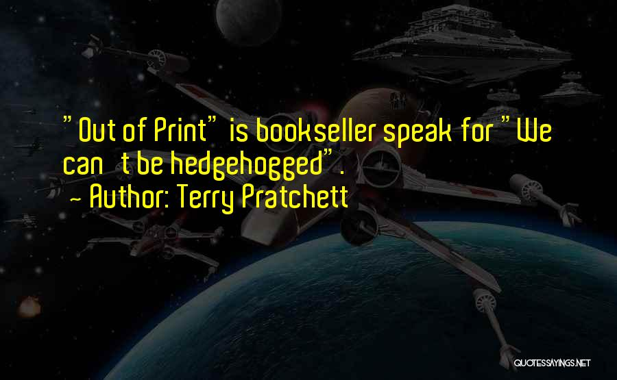 Booksellers Quotes By Terry Pratchett