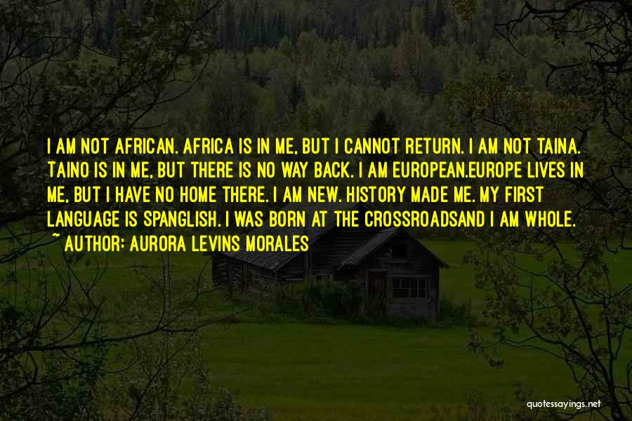 Boricua Things Quotes By Aurora Levins Morales