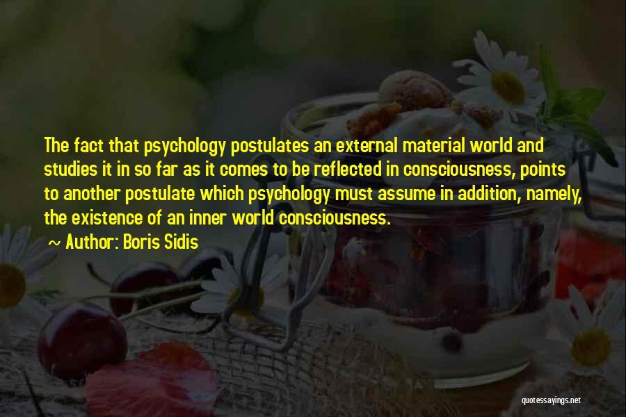 Boris Sidis Quotes 1859700